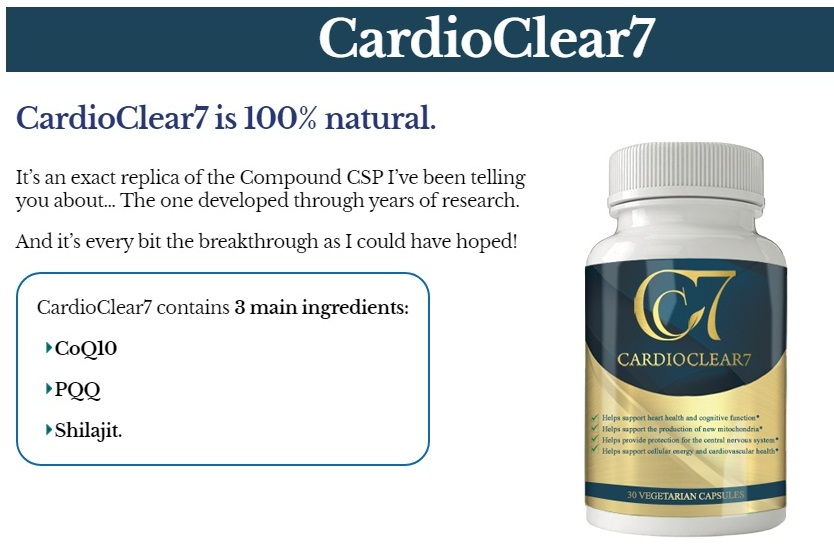 Cardio Clear 7 Ingredients