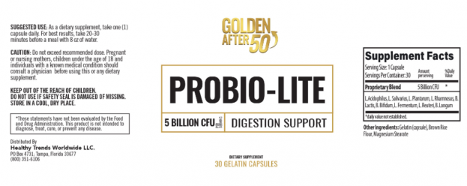 Probio Lite Ingredients
